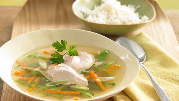Asiatischer Hühnereintopf Rezept