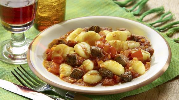 Wildragout mit Maronignocchi Rezept