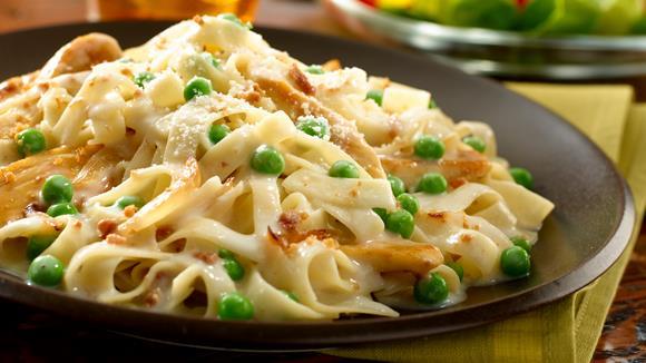 Pasta Primavera mit Spargel, Erbsen und Zuckerschoten Rezept