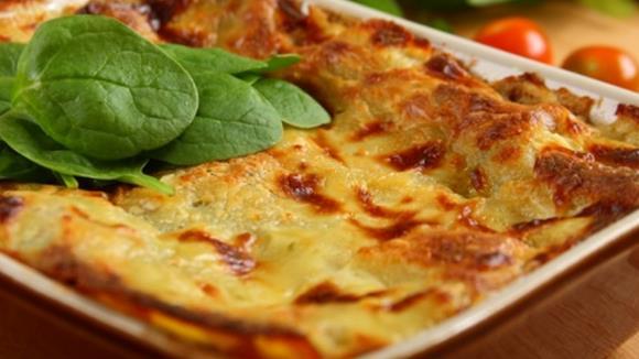 Lasagne mit Spinat und Pilzen Rezept
