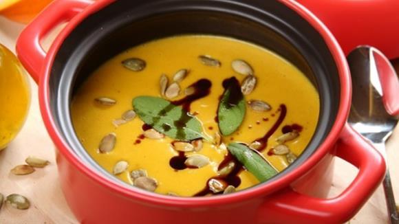 3-Kürbis-Suppe