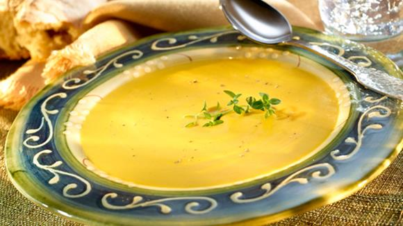 Maiscreme Suppe
