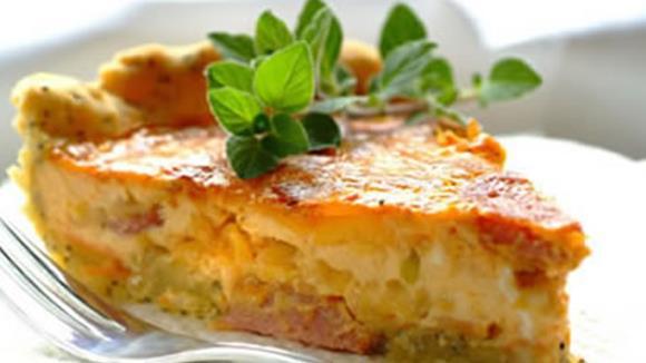 Quiche mit Selchfleisch und Sauerkraut