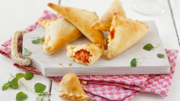 Italienische Pizzataschen