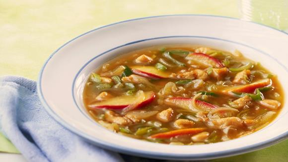 Zwiebel-Apfel-Suppe Rezept