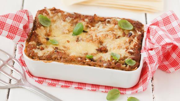 Eierschwammerl Lasagne mit Faschiertem Rezept