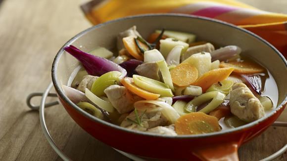Herbstlicher Hühnereintopf Rezept