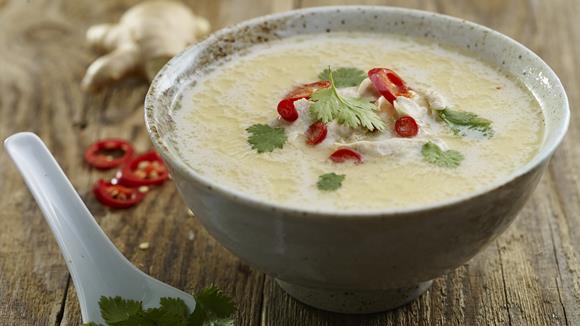 Wärmende Thai-Suppe Rezept