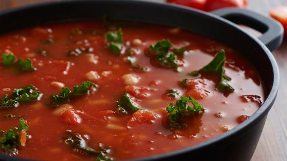 Bohnensuppe mit Grünkohl Rezept