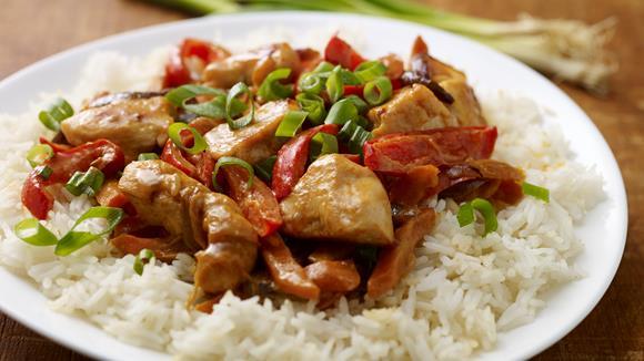 Einfaches rotes Thai-Curry Rezept