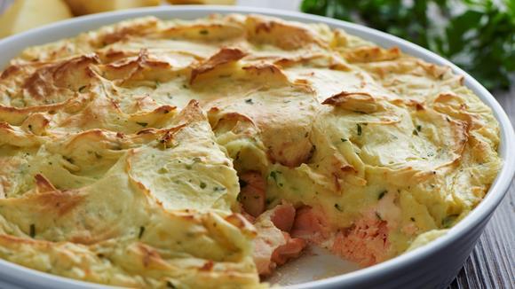 Englischer Fish Pie Rezept