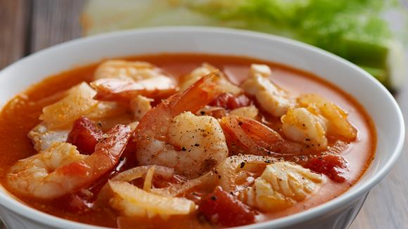 Italienische Meeresfrüchte-Suppe Rezept