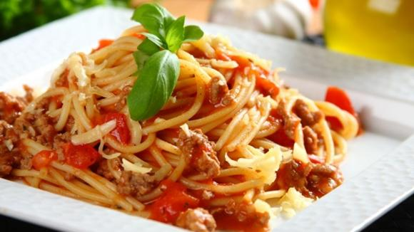 Spaghetti auf italienische Art