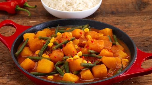 Süßkartoffel-Chili