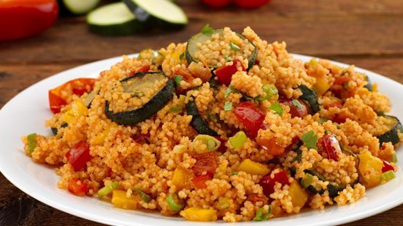 Mediterraner Couscous-Salat Rezept