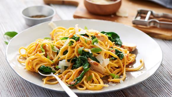 Gemüse Pasta Rezept