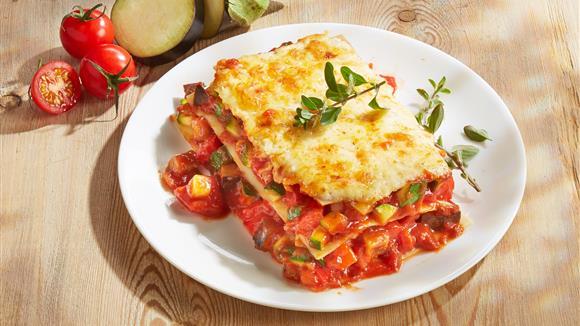 Lasagne mit Mais