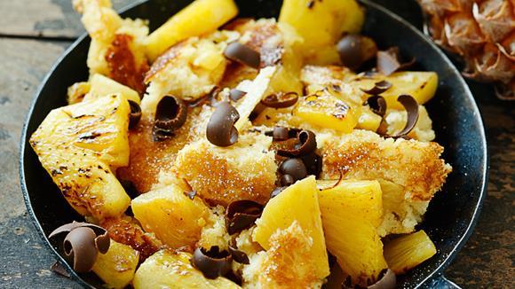 Kokosschmarrn mit Ananas