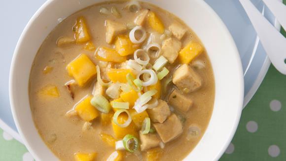 Asiatische Gemüsepfanne mit Tofu