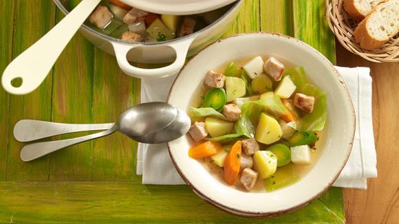 Kartoffel-Gemüse-Eintopf mit Hühnerbrust Rezept