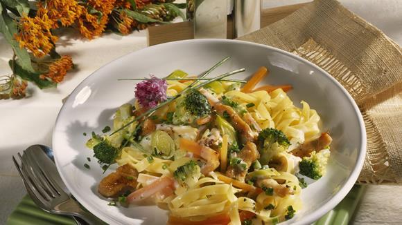Penne mit Champignon-Broccolisauce Rezept