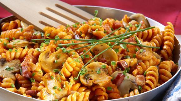 Pasta alla Bolognese con Funghi