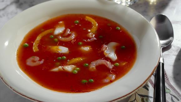 Neapolitanische Tomaten-Fischsuppe Rezept