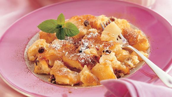 Kokos-Schmarrn mit Ananas