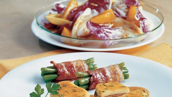 Schweinslendchen im Kartoffelmantel Rezept