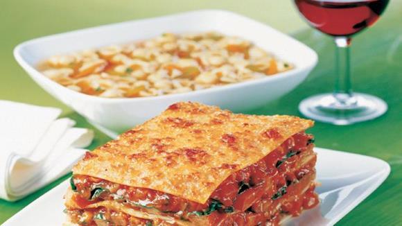 Lasagne mit Tomaten, Pilzen und Zucchini Rezept