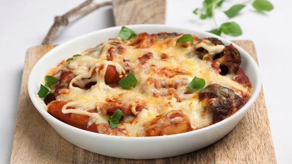 Gnocchi mit Champignons, Broccoli und Schinken Rezept