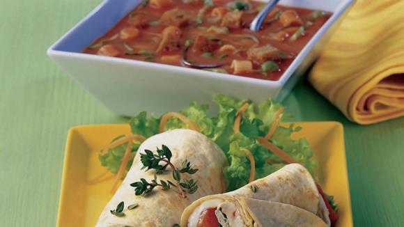Vital-Krautsuppe mit Gemüse und Kräutern Rezept