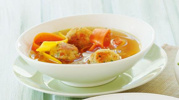 Salzburger Kaspressknödel Suppe Rezept