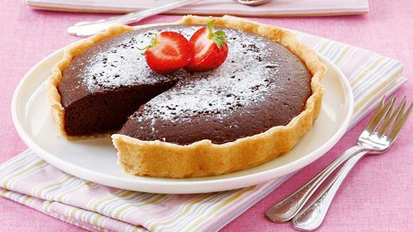 Schokoladen tarte rezept knorr - Eier kochen ohne anstechen ...