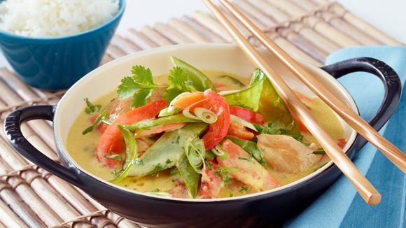 Asiatisches Hühner Curry Rezept