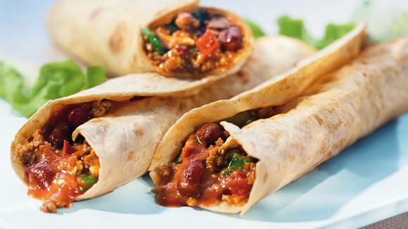 Tortillas con Carne