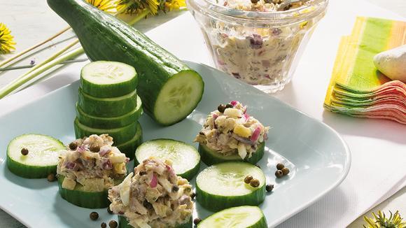Räucherfisch-Häckerle mit grünem Pfeffer