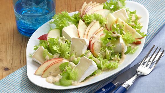 Camembert-Apfel-Salat