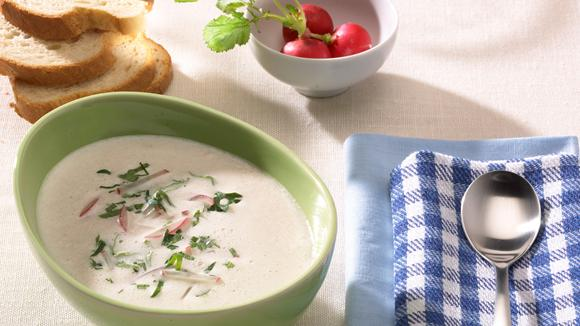 Radieschen-Suppe à la Lindstrom