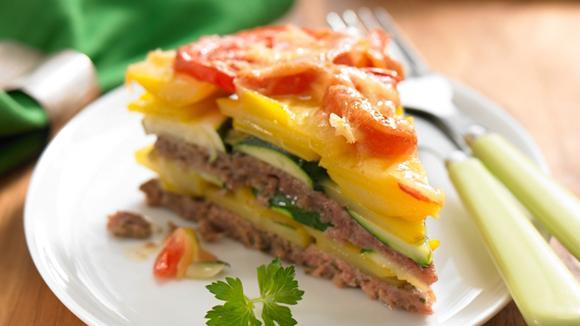 Hackfleisch-Kartoffel-Torte