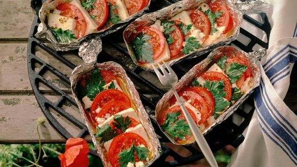 Feta-Tomaten-Pfännchen Rezept