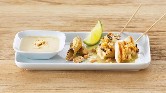 Satay-Marinade mit Erdnuss für Pouletfleisch