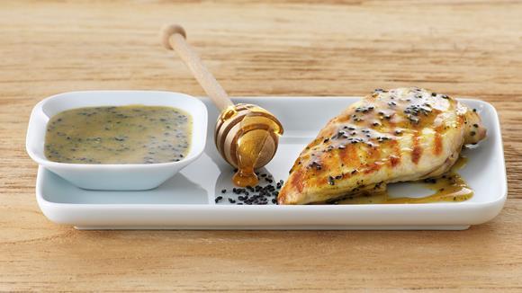 Sesam-Marinade für Pouletfleisch