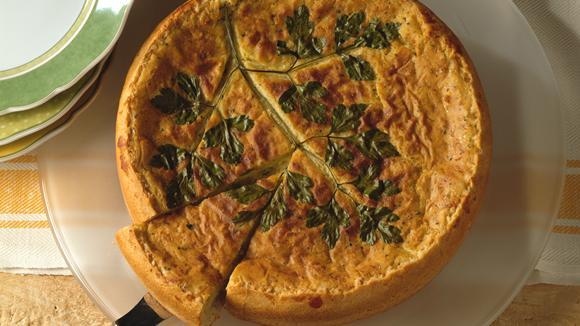 Stocki-Cake mit Broccoli und Speck Rezept