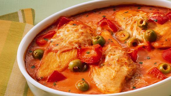 "Tomaten-Peperoni-Poulet ""Mallorca"""