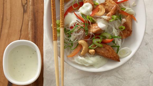 Asiatischer Hähnchen-Nudelsalat Rezept