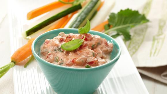 Tomaten-Frischkäse-Dip