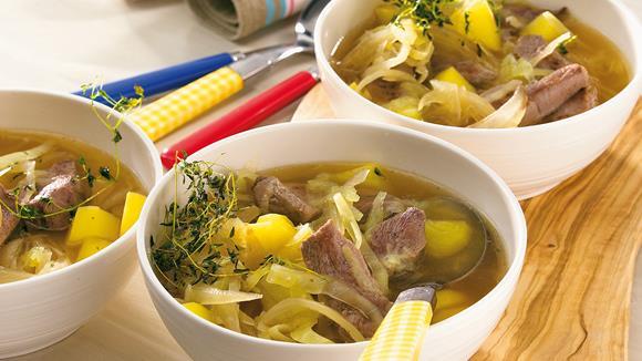 Weißkohl-Stew