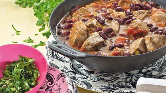 Bohnen-Stew