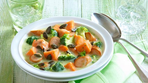 Broccoli-Süßkartoffel-Ragout